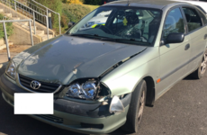 Gardaí want to know how many offences you can spot on this seized car