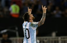 Argentina World Cup hopes boosted as Messi gets four-game ban quashed
