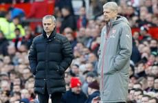 Mourinho to rest his Man United stars for Sunday's clash with Arsenal
