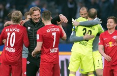 Nine years after being founded, RB Leipzig secure automatic CL qualification