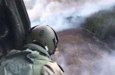 Firefighters continuing to battle massive Sligo mountain fire