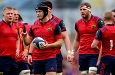 Tyler Bleyendaal emerges as a doubt for Munster's Pro12 semi-final