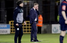 Dundalk manager Kenny fumes at 'unacceptable' defeat to Shamrock Rovers