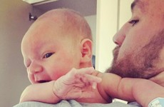 Conor McGregor shared his first ever photo with his newborn son last night... it's the Dredge