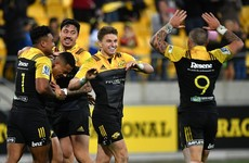 The kick pass is king and Beauden Barrett is king of the kick pass