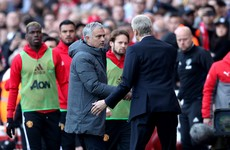 Mourinho can't resist dig at Arsenal and Wenger following Man United defeat