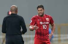 Hulk denies punch, says 'I like Chinese people'