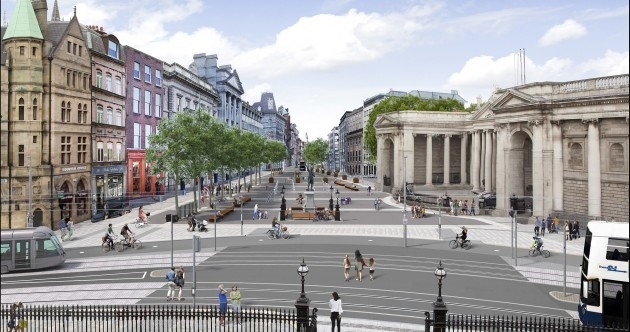 Car ban for Dublin's College Green may come in as early as this year