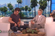 Colin Farrell had Ellen DeGeneres in stitches with his manscaping story