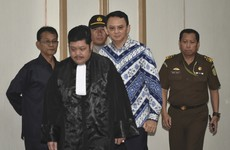 Blasphemy: Governor of Jakarta jailed for two years after being found guilty of offence