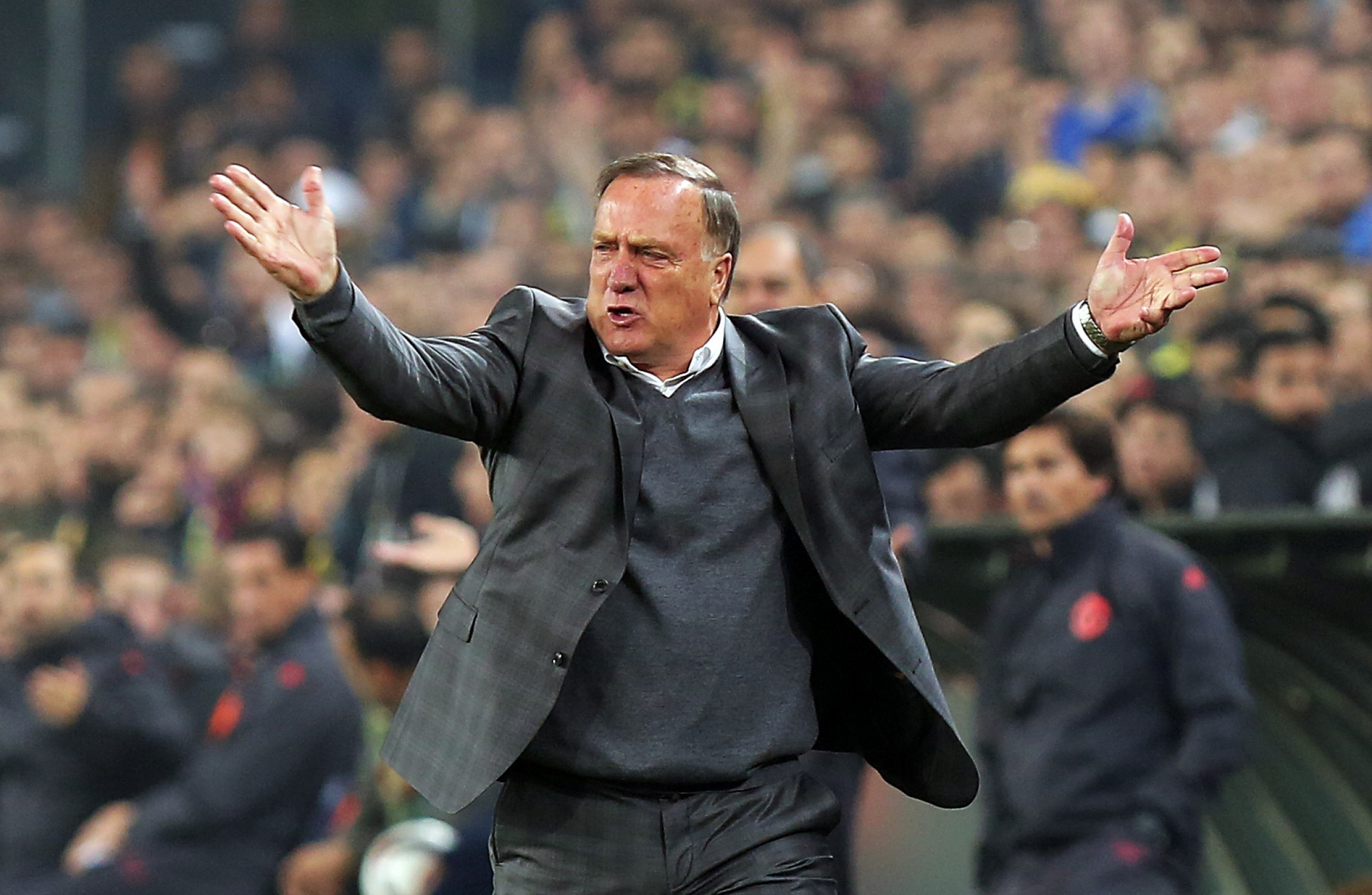 Advocaat most recently was manager of Fenerbahce. Image Depo