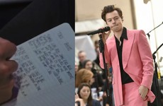 There's a very plausible theory that the lyrics of Harry Styles' new song are all about Taylor Swift