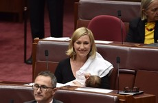 Politician makes Australian history as she becomes the first to breastfeed in parliament