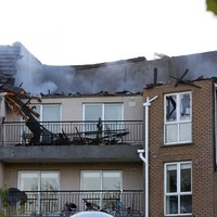 Roof caves in at scene of major fire at Blanchardstown apartment block