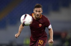Roma legend Totti not confirming retirement as he plans 'time to talk'