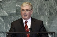 Eamon Gilmore begins visit to the Middle East