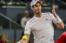 Murray slump continues with shock exit while coach-less Djokovic advances