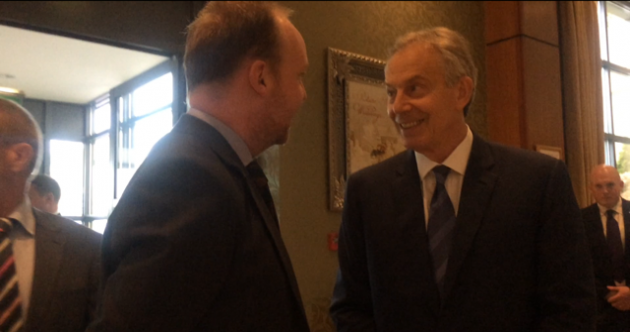 'Tony, will Brexit bring about a united Ireland?': Blair is back and has views on Ireland