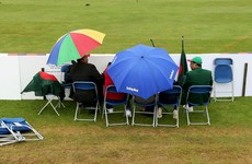 Frustration for Ireland as heavy rain wipes out first fixture of the summer