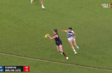 Mark O'Connor makes AFL debut but Geelong overpowered