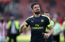 Race for top four intensifies as Giroud hits two to help Arsenal dismiss Stoke