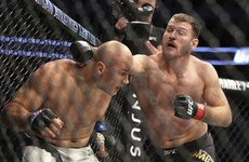 Miocic shows his devastating power with first-round TKO of dos Santos at UFC 211