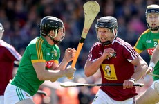 Westmeath book Leinster hurling quarter-final against Offaly, while Laois will face Wexford