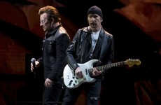 Bono has banned Donald Trump from attending U2's tour in the States... it's the Dredge