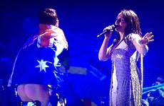 The guy who mooned everyone at the Eurovision could be going to jail for it