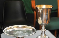 Chalice given back to Spike Island after 134 years in Dublin