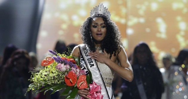 Miss USA refuses to call herself a feminist and insists healthcare is 'a privilege not a right'