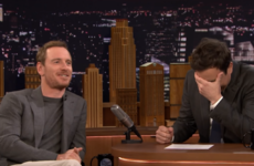 Michael Fassbender gave a massive shout-out to an Irish 80s cover band on Jimmy Fallon