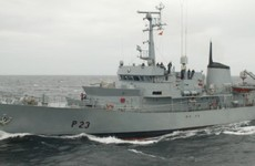 No reserve price was set before LÉ Aisling was sold for €110,000
