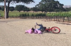 Kendall Jenner snotted herself on a bike so of course her sister Khloe put it on Instagram