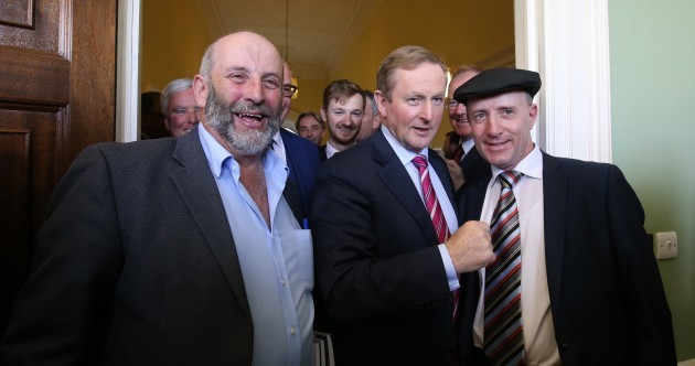 Irish PM Kenny steps down as party leader
