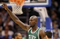 Boston Celtics' Kevin Garnett has a strange obsession with 'bar fights'