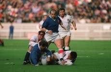 Six Nations golden moments: Saint-André's try v England, 1991