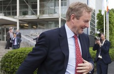 Mind if I go? Emotions run high as Enda takes just seven minutes to say goodbye