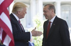 The US isn't happy after Turkish President's guards beat protesters