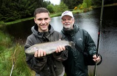 Transition year students are being taught a new skill - fishing