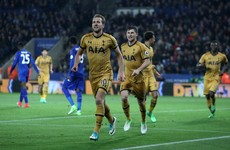 Kane hits 4 to close in on Golden Boot as Spurs hammer Leicester