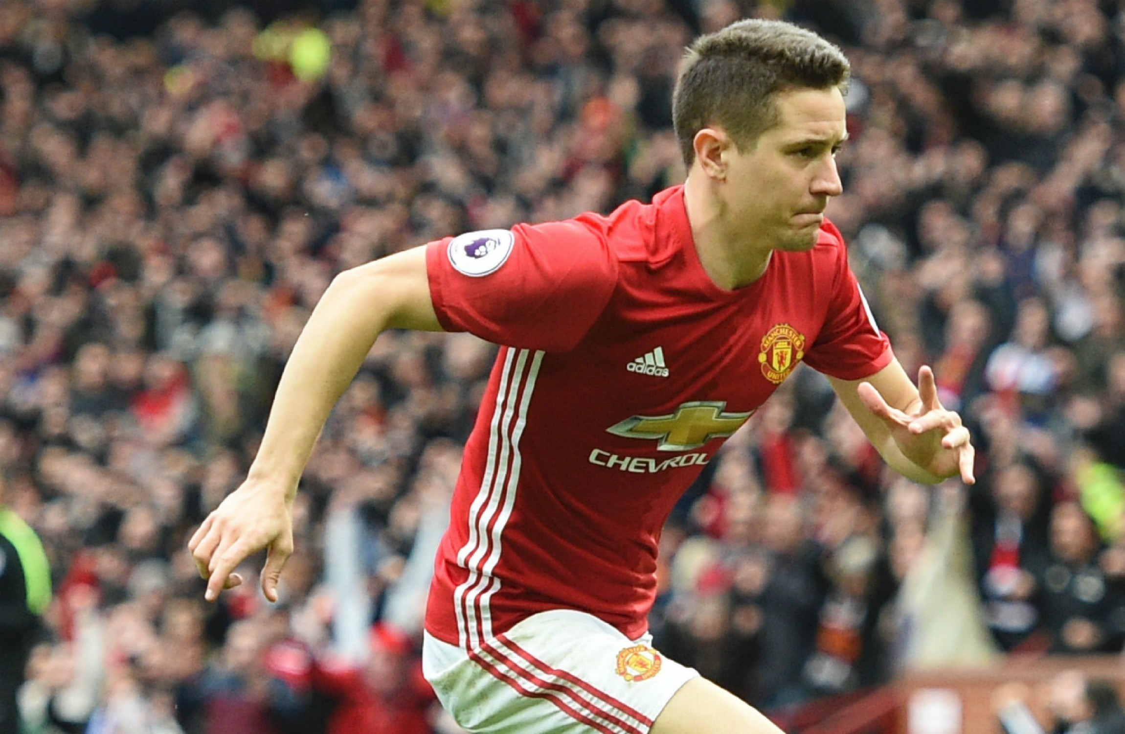 Ander Herrera named Manchester United's Player of the Year