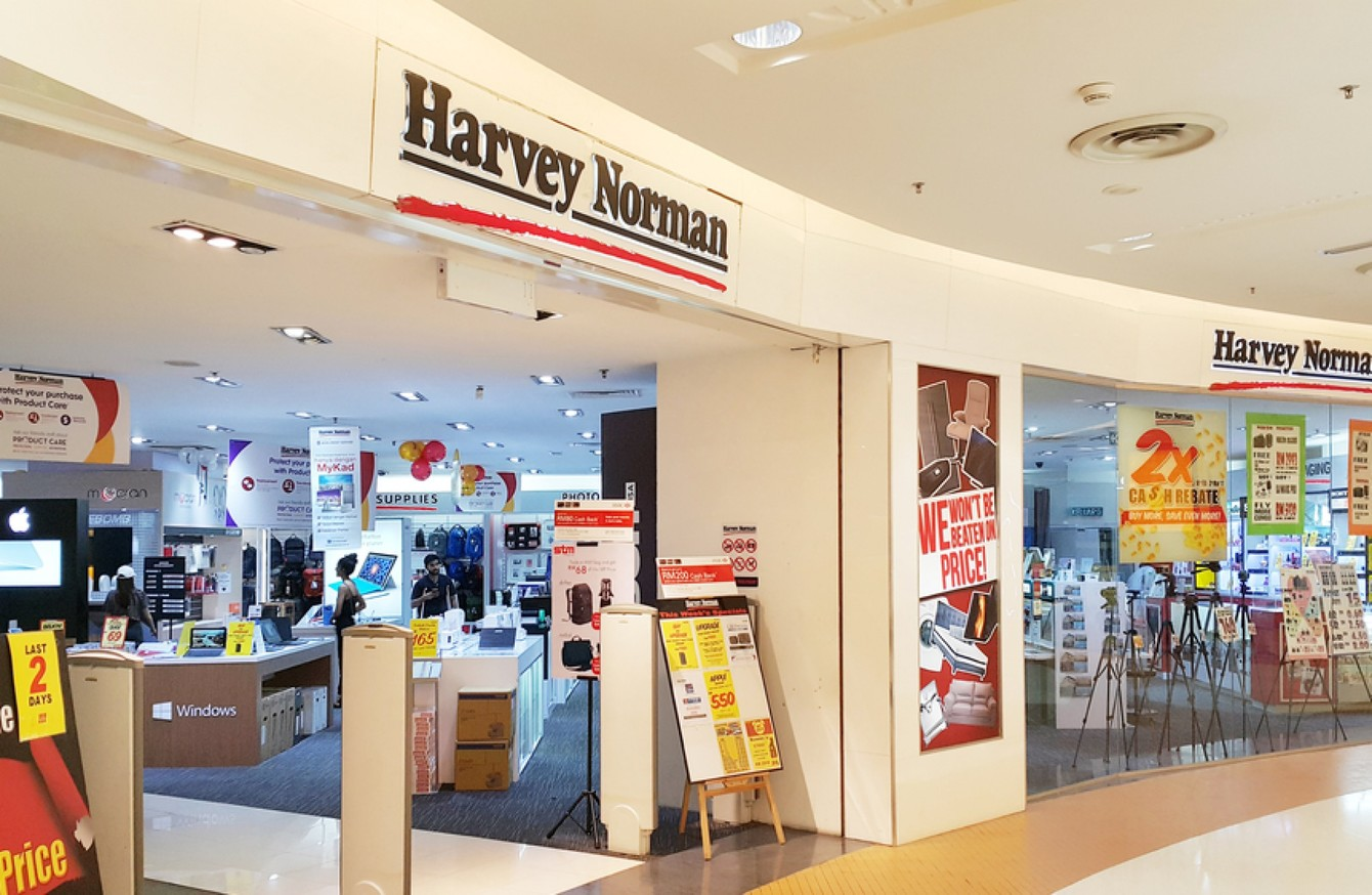 harvey norman 39 s security chief 39 i 39 ve caught nuns priests and neighbours shoplifting 39. Black Bedroom Furniture Sets. Home Design Ideas