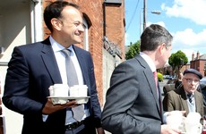 With coffee for the assembled media, Leo and Paschal are the two boys brewing a new leadership