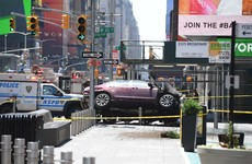 Times Square driver who claimed he 'hears voices' charged with murder