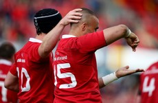 Scintillating Zebo try helps Munster into Pro12 final against Scarlets