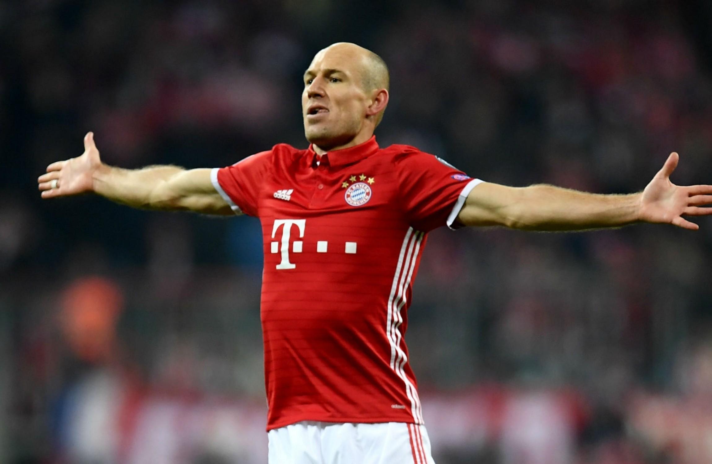 Arjen Robben eyeing another Bundesliga title to outdo Dutch icon