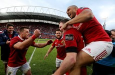 Erasmus' Munster march on to Pro12 final against 'weird team' Scarlets