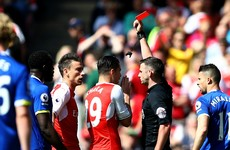 Terrible tackle rules sent off Koscielny out of FA Cup final for Arsenal
