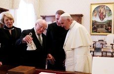 Climate Bells: The gift Michael D Higgins gave Pope Francis today